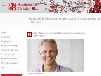 Christian Elze, Heilpraktiker