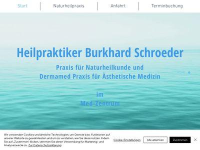 Heilpraktiker Burkhard Schroeder im Vitazentr