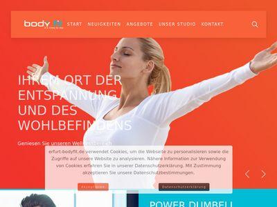 Body fit - Erfurt | Ihr Fitnessstudio