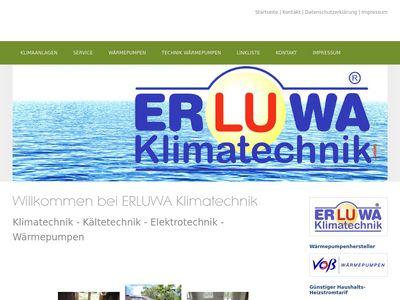 Erluwa Klimatechnik UG (haftungsbeschränkt)