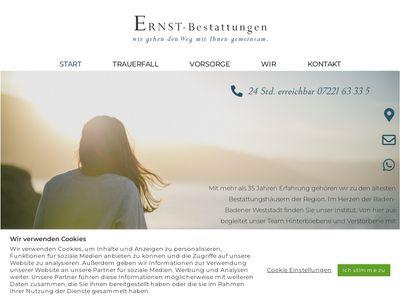 ERNST-Bestattungen