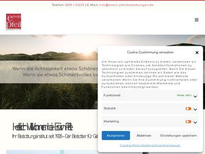 Bestattungsunternehmen Erwin Pfeil GmbH
