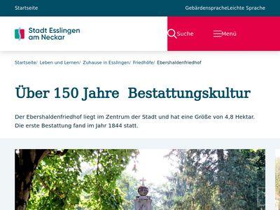 Bestattungsinstitut der Stadt Esslingen