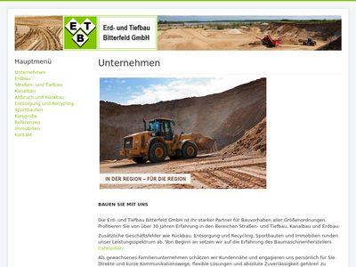 Erd- und Tiefbau Bitterfeld GmbH