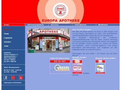 EUROPA APOTHEKE Düsseldorf