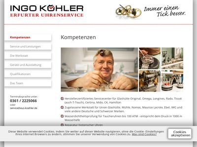 Köhler Ingo Uhrmachermeister