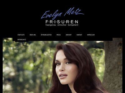 Evelyn Metz Frisuren