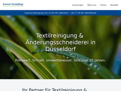 Exclusiv Textilpflege