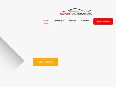 Export-Autohandel