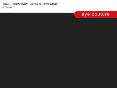 Eye couture - Augenoptik