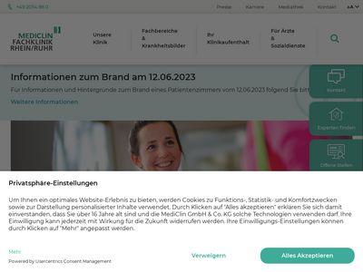 MediClin Fachklinik Rhein-Ruhr