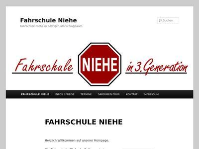 Fahrschule Niehe in 3. Generation