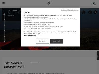 Juwelier im Hotel Fairmont