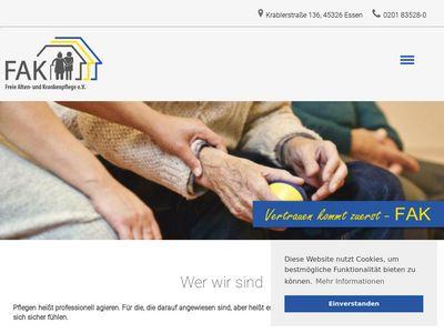 Freie Alten- und Krankenpflege e.V.