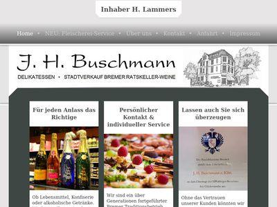 Heinrich W. Buschmann Maler/Lackierer