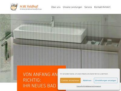 Feldhof, H. W., Sanitär
