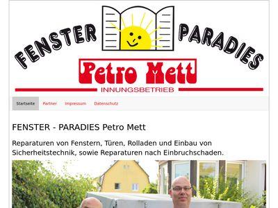 Mett Petro Fenster-Paradies