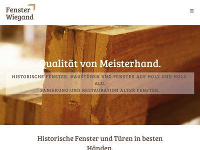Fenster Wiegand GmbH