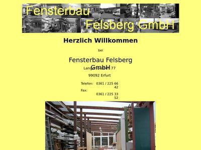 Fensterbau Felsberg GmbH