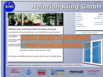 Heinrich Kling GmbH Fenster- und Rolladenb…