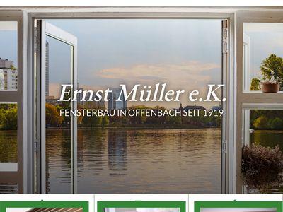 Fensterbau und Glaserei Müller Ernst e.K.