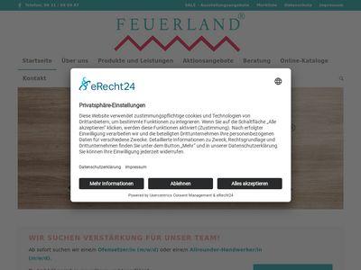 FEUERLAND Fachhandel für den Kaminbau