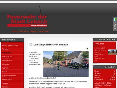 Freiwillige Feuerwehr Gresaubach