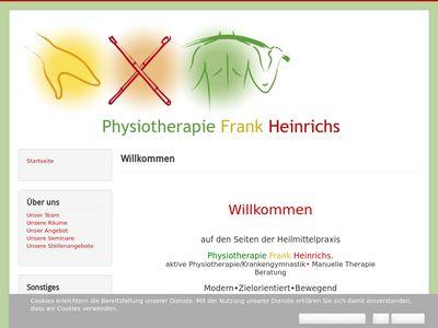 Physiotherapie Frank Heinrichs