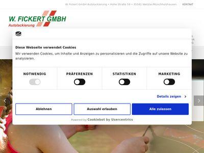 Fickert W. GmbH Autolackierung