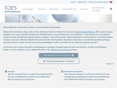 Fides Kemsat GmbH Wirtschaftsprüfung