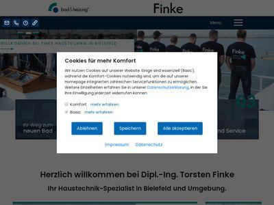 Thorsten Finke Heizung Sanitär
