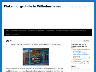 Grundschule Finkenburg Wilhelmshaven