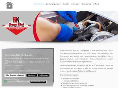 René Klut - Sanitär & Montage GmbH