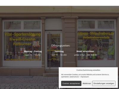 Fitness-Shop-Freiburg Fitnessfachgeschäfte