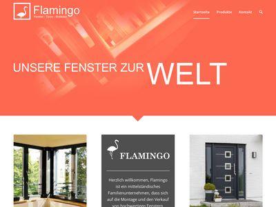 Flamingo Fenster-Türen-Rollläden