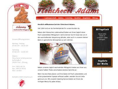 Fleischerei Adams GmbH