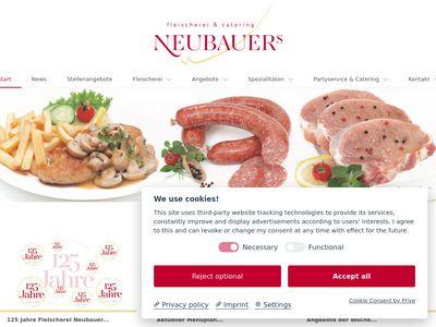 Fleischerei Neubauer OHG