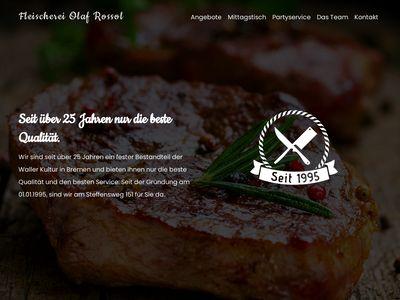 Olaf Rossol Fleischerei & Partyservice