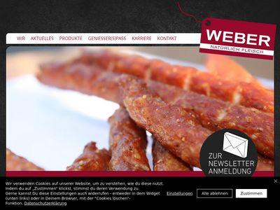 Weber | Natürlich Fleisch |