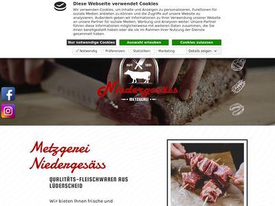 Metzgerei Niedergesäss