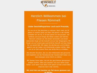 Fliesen Römmelt GmbH