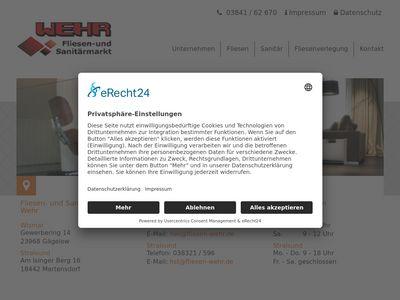 Fliesen und Sanitärmarkt Wehr GmbH
