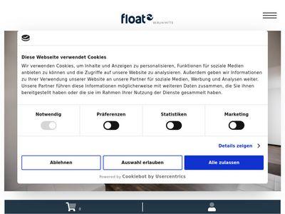 Floating für Zwei