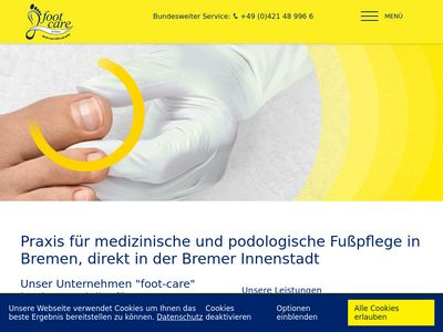 Foot-care by OxyCare GmbH