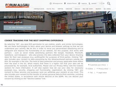 Reinigung De Lux, Forum Allgäu