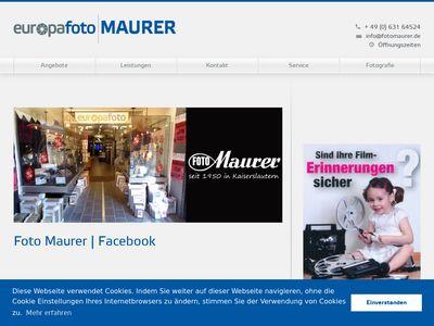 Foto-Maurer GmbH & Co. KG