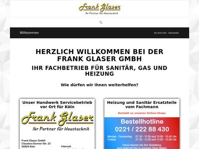 Glaser, Frank Sanitär Heizung