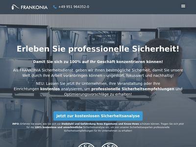 Sicherheitsdienst GmbH & Co. KG FRANKONIA