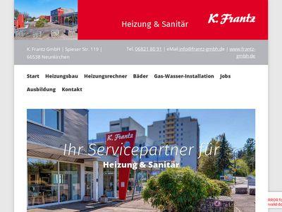 K. Frantz GmbH, Heizung, Sanitär