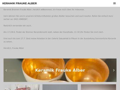 Keramik Frauke Alber